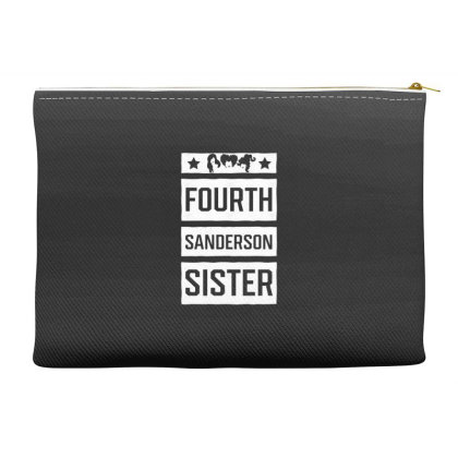 Fourth Sanderson Sister - Halloween Gift Scary Accessory Pouches Designed By Diogo Calheiros