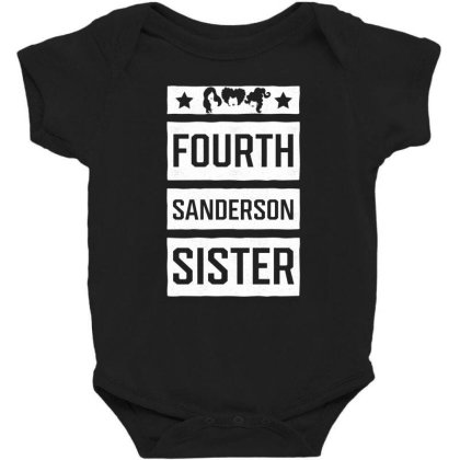 Fourth Sanderson Sister - Halloween Gift Scary Baby Bodysuit Designed By Diogo Calheiros