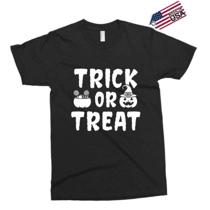 Trick Or Treat - Halloween Gift Scary Exclusive T-shirt Designed By Diogo Calheiros