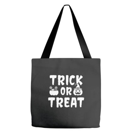 Trick Or Treat - Halloween Gift Scary Tote Bags Designed By Diogo Calheiros