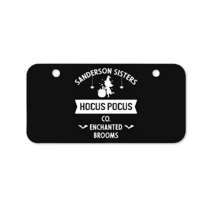 Hocus Pocus Co Sanderson Sister - Halloween Gift Scary Bicycle License Plate Designed By Diogo Calheiros