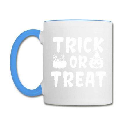Trick Or Treat - Halloween Gift Scary Coffee Mug Designed By Diogo Calheiros