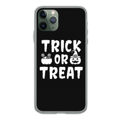 Trick Or Treat - Halloween Gift Scary Iphone 11 Pro Case Designed By Diogo Calheiros