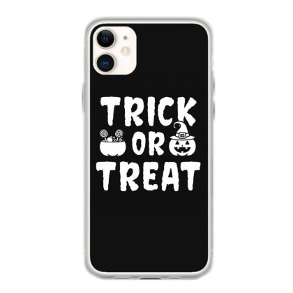 Trick Or Treat - Halloween Gift Scary Iphone 11 Case Designed By Diogo Calheiros