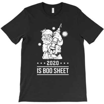 2020 Is Boo Sheet - Halloween Gift Scary T-shirt Designed By Diogo Calheiros
