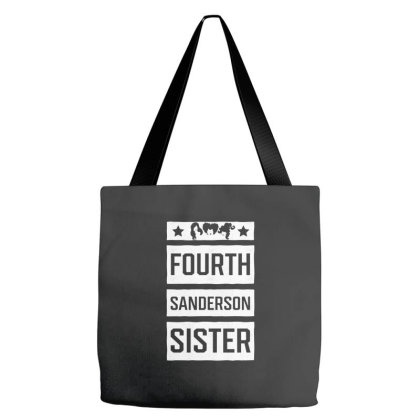 Fourth Sanderson Sister - Halloween Gift Scary Tote Bags Designed By Diogo Calheiros