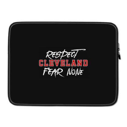 Respect Cleveland Laptop Sleeve Designed By Shirt1na
