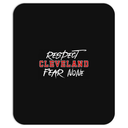 Respect Cleveland Mousepad Designed By Shirt1na
