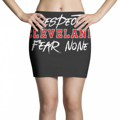 Respect Cleveland Mini Skirts Designed By Shirt1na