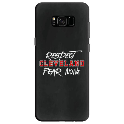 Respect Cleveland Samsung Galaxy S8 Case Designed By Shirt1na