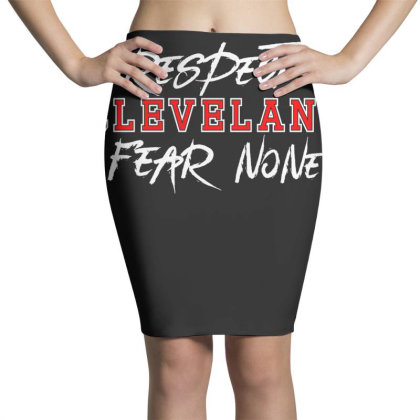 Respect Cleveland Pencil Skirts Designed By Shirt1na