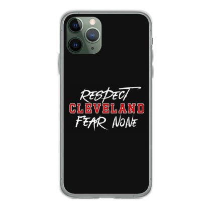 Respect Cleveland Iphone 11 Pro Case Designed By Shirt1na
