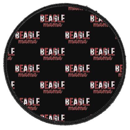 Beagle Mama Round Patch Designed By Sengul