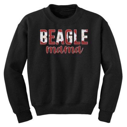 Beagle Mama Youth Sweatshirt Designed By Sengul
