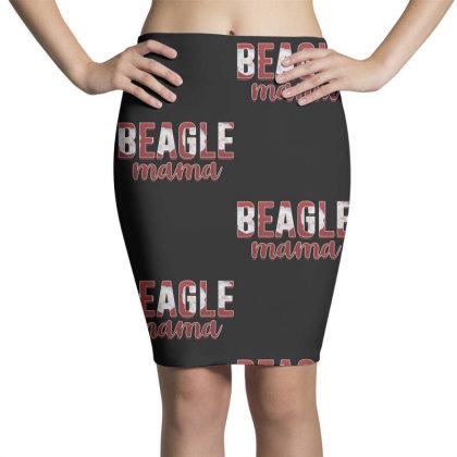 Beagle Mama Pencil Skirts Designed By Sengul