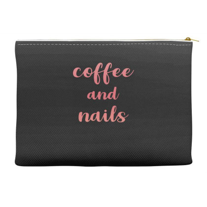 Coffee And Nails Accessory Pouches Designed By Sengul