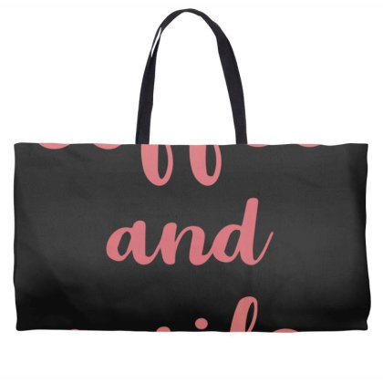 Coffee And Nails Weekender Totes Designed By Sengul