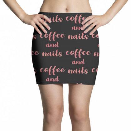 Coffee And Nails Mini Skirts Designed By Sengul