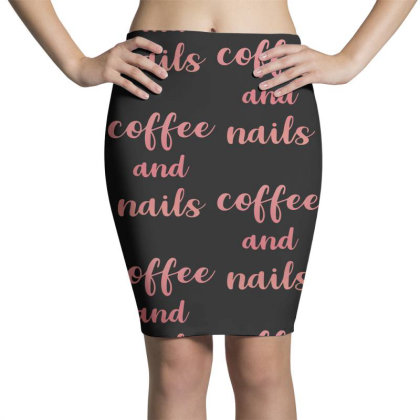 Coffee And Nails Pencil Skirts Designed By Sengul