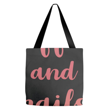 Coffee And Nails Tote Bags Designed By Sengul