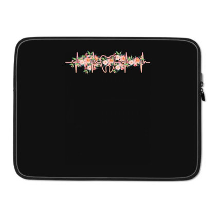 Dent Heartbeat Laptop Sleeve Designed By Sengul