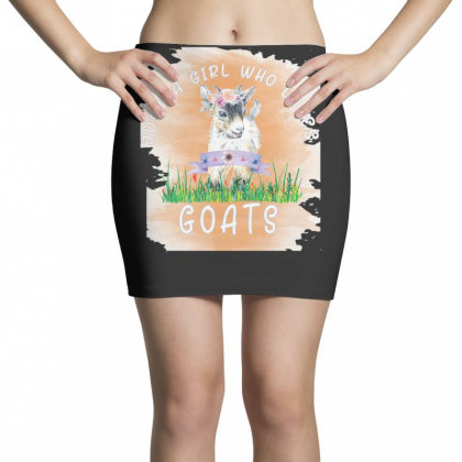 Just A Girl Who Loves Goat Mini Skirts Designed By Alparslan Acar