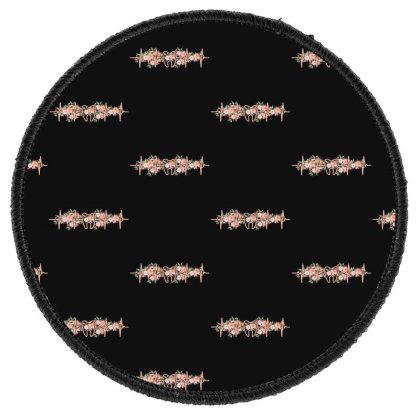 Dent Heartbeat Round Patch Designed By Sengul