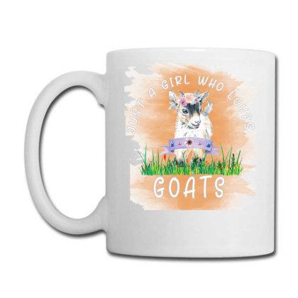 Just A Girl Who Loves Goat Coffee Mug Designed By Alparslan Acar
