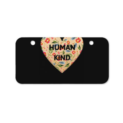 Human Kind Bicycle License Plate Designed By Sengul