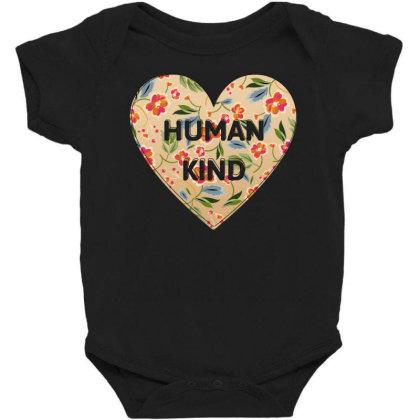 Human Kind Baby Bodysuit Designed By Sengul