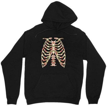 Halloween Skeleton Floral Unisex Hoodie Designed By Sengul