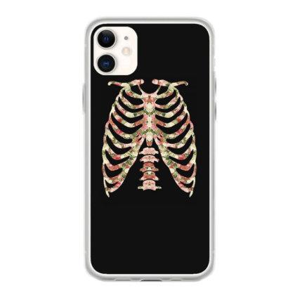 Halloween Skeleton Floral Iphone 11 Case Designed By Sengul