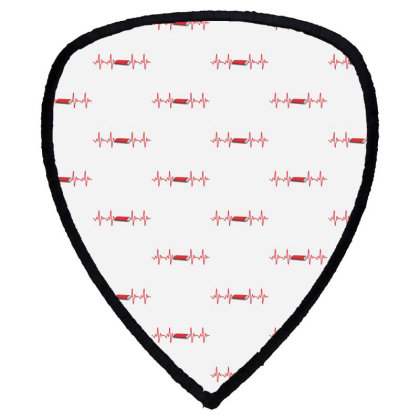 Harmonica Heartbeat Shield S Patch Designed By Sengul
