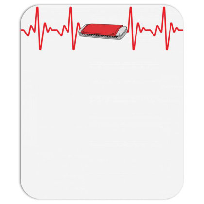 Harmonica Heartbeat Mousepad Designed By Sengul