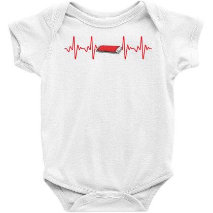 Harmonica Heartbeat Baby Bodysuit Designed By Sengul