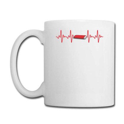 Harmonica Heartbeat Coffee Mug Designed By Sengul
