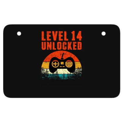 Level 14 Unlocked Atv License Plate Designed By Sengul
