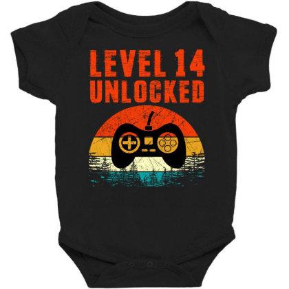Level 14 Unlocked Baby Bodysuit Designed By Sengul