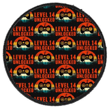 Level 14 Unlocked Round Patch Designed By Sengul