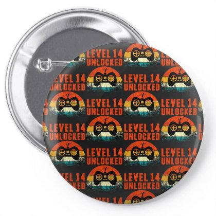 Level 14 Unlocked Pin-back Button Designed By Sengul