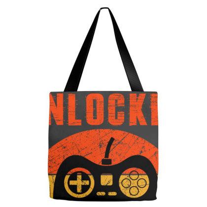 Level 14 Unlocked Tote Bags Designed By Sengul