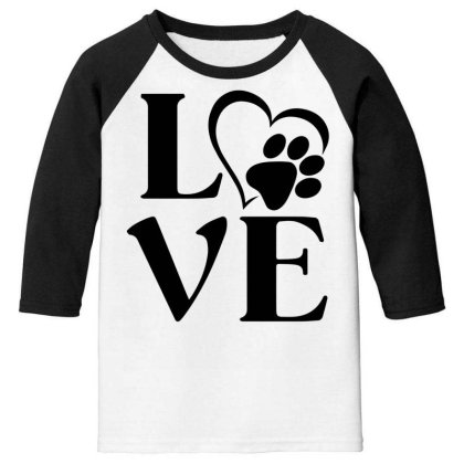 Love Paw For Light Youth 3/4 Sleeve Designed By Sengul