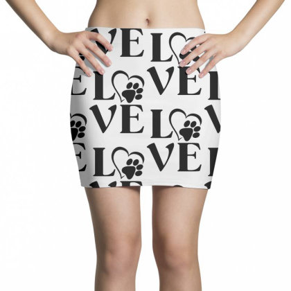 Love Paw For Light Mini Skirts Designed By Sengul