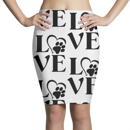 Love Paw For Light Pencil Skirts Designed By Sengul
