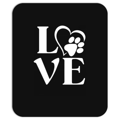 Love Paw For Dark Mousepad Designed By Sengul