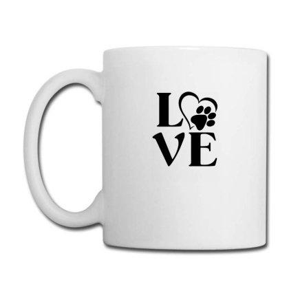Love Paw For Light Coffee Mug Designed By Sengul