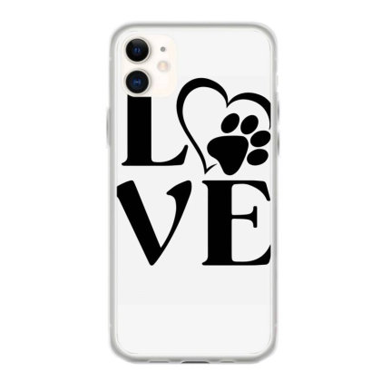 Love Paw For Light Iphone 11 Case Designed By Sengul