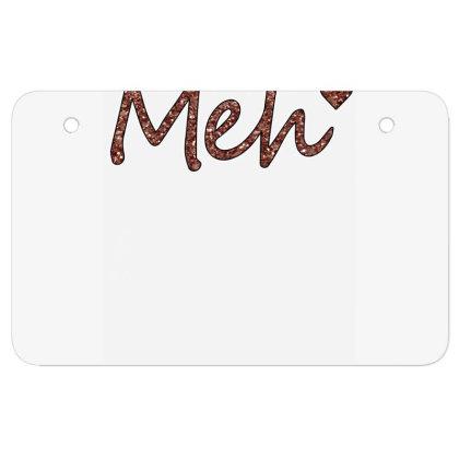 Meh Atv License Plate Designed By Sengul