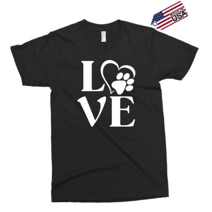 Love Paw For Dark Exclusive T-shirt Designed By Sengul