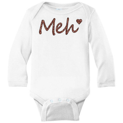 Meh Long Sleeve Baby Bodysuit Designed By Sengul